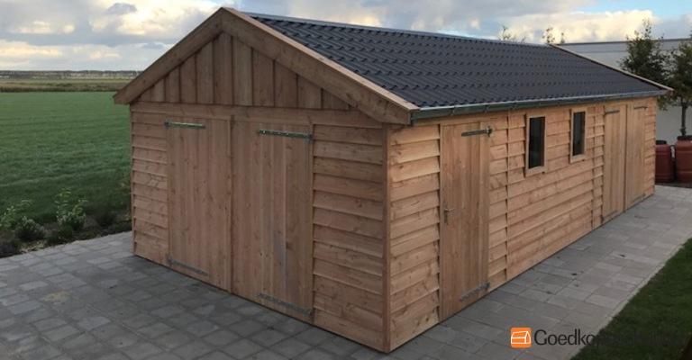Houten Garage Kopen : Houten garage terneuzen zeeland u goedkopeschuur