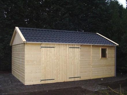 Houten Garage Kopen : Kwaliteit houten garage voor weinig goedkopeschuur.nl