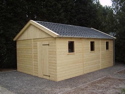 Houten Garage Prijs : Houten tuinschuur bouwen goedkopeschuur