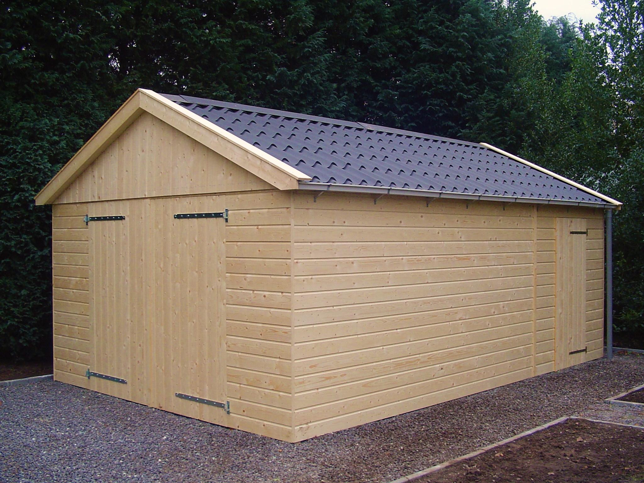Goedkope houten garage - Goedkopeschuur.nl